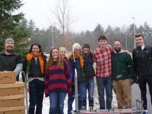 volunteer exeter snow