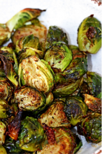 cooked sprouts